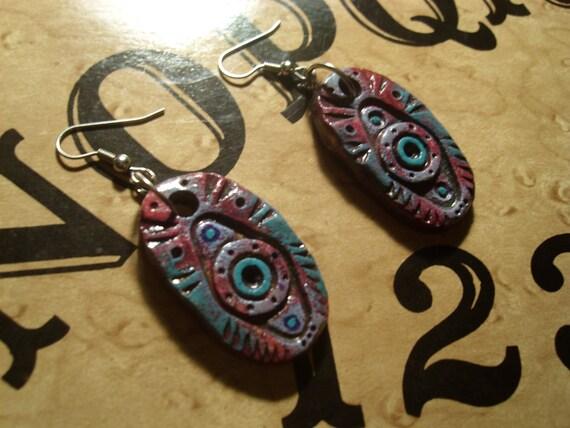 Evil Eye Earrings (ward off evil spirits)