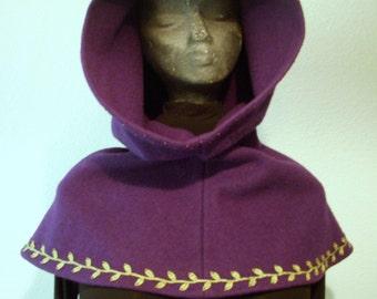 Royal Purple Greenman Hood