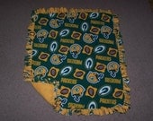 NFL Baby Blankets in Fleece Fabric - Great Gifts