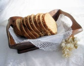 Bread Tray, Wood, Carved, Primitive, Shabby Chic, Shabby Cottage, Rustic Home, Farm Decor, by mailordervintage on etsy