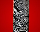 LINE STUDIES 1.... original 7x14 acrylic painting by Michael Schaefer... SALE.. 40% off original listing price