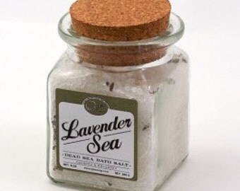 Dead Sea Salt, Lavender, Bath Salt, Signature Scent, Italian Lavender