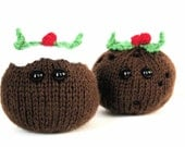 Knit your own amigurumi Christmas pudding (pdf)