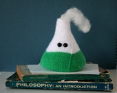 Amigurumi frothing flask paperweight