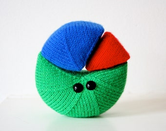 Knit your own cutie pie chart (pdf knitting pattern)
