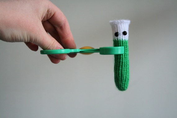 Knit your own Amigurumi Test Tubes (pdf knitting pattern)