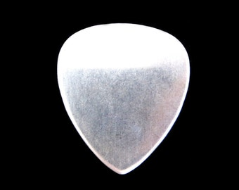 1 pc New// Sterling Silver Guitar Pick Blanks 22 Gauge - Hand Stamping Supplies by Daisytreasures