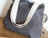 Simple Grey Schoulderbag, Tote, Handbag
