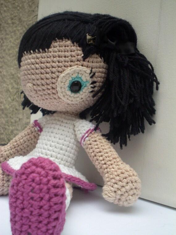 Amigurumi Girl Doll Pattern : Amigurumi Doll Pattern LUPE