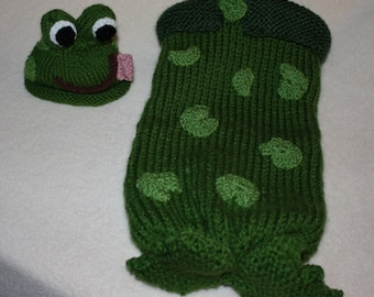 Ribbit Ribbit,  From my Frog Pad to Your Pad the Frog Cuddlybum
