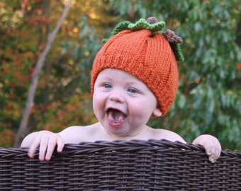Baby/Toddler Thanksgiving Pumpkin Hat