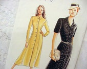 Vogue 9239 Dress Pattern A-lined 1995 Size 8 10 12  Great Gatsby Style