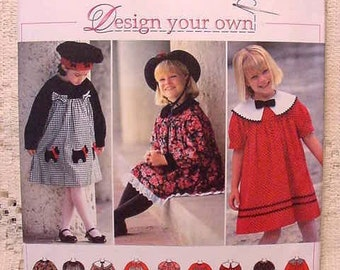 Simplicity 9777 Pattern  Childs Dress Peter Pan Collar Size 5 thru 6X