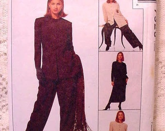 McCalls 7328 Sewing Pattern  Jacket, Tunic, Skirt and Pants Jones of New York Size 16