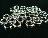 9mm nickel plated split ring/ key ring/ key chain rings