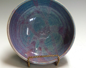 Pottery and ceramic serving bowl for home living and home decore