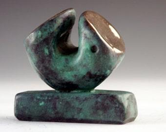 Bronze sculpture  art sculpture, unique form sculpture