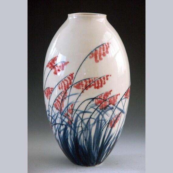 Porcelain vase pottery hand-made home decoration vase