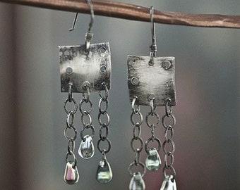 Chandelier Armor Earrings