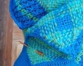 Aquamarine sleeveless sweater