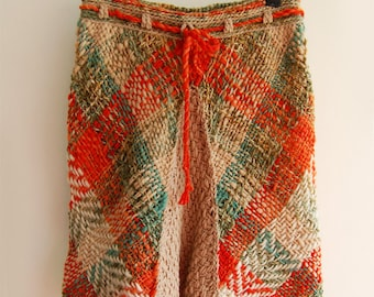 Nature scent multicolor skirt