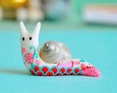 Tattooed snail