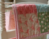 Hello Dolly Quilt, Primarily Pinks