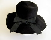 Vintage Audrey Hepburn style hat