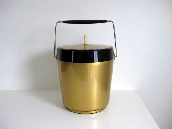 Vintage ice bucket mid century