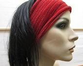 3 Eco Headwraps Red Earth Outback Australia colors Midi size