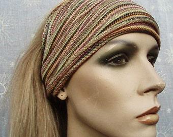 3 Eco Headbands Summer weight midi size
