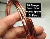 OOPS 5ft 10g Pure Dead soft Copper wire