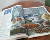 70s Homes and Gardens UK magazine June 1970 Interiors Knitting patterns Recipes Articles