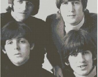 The Beatles Cross Stitch Kit