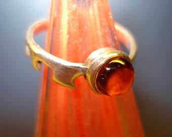 Red Key Stack Ring