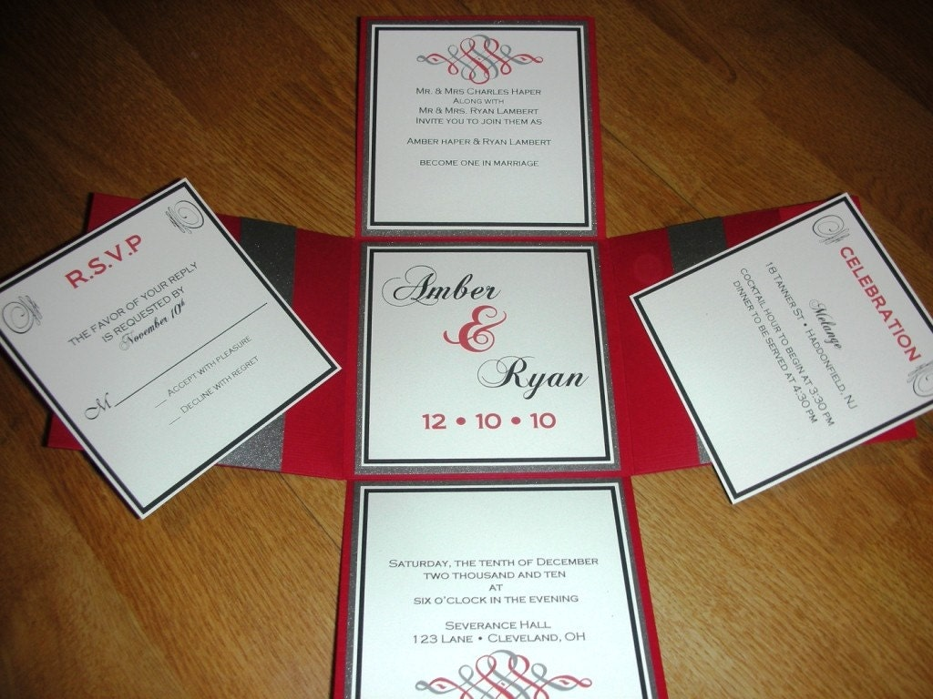Items Similar To Wedding Invitation Explosion Box On Etsy