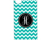 iPhone3 and iPhone4 Tough Case--Chevron Custom Color and Monogram