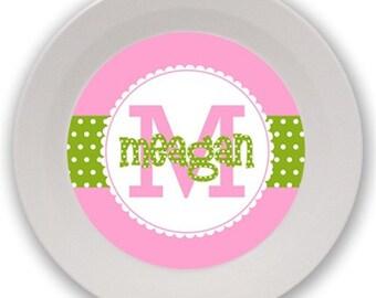 Personalized Melamine Bowl