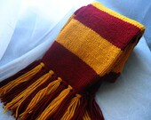 Reserved for melieshelly: House scarves, maroon and marigold