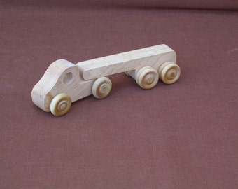 Wood Toy Truck--Flatbed