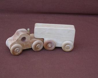 Wood Truck--8-Wheeler-Semi