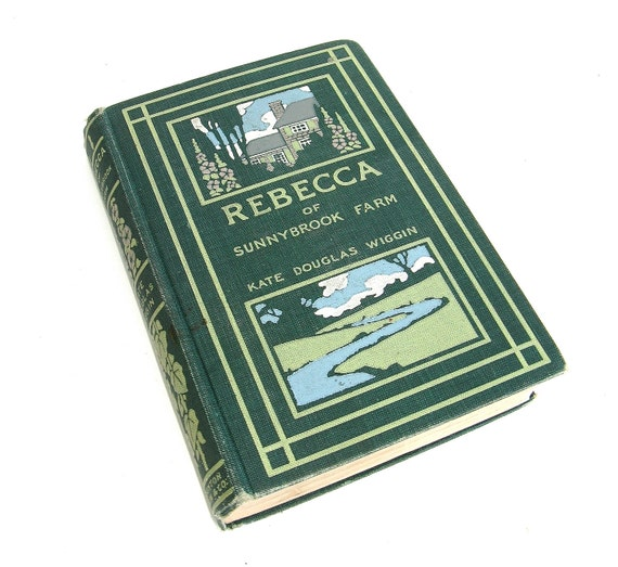 rebecca of sunnybrook farm  ...   vintage childrens reading  ...  1st edition