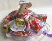 Little Miss Mouse sewing pattern - INSTANT DOWNLOAD