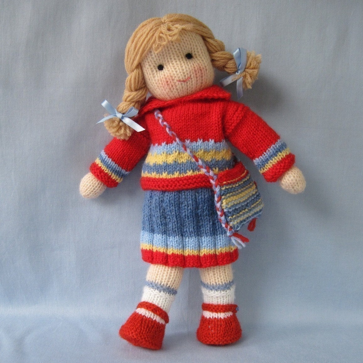 Knitting Doll How To Use : Tilly doll knitting pattern instant download from