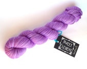 Smitten II - Superwash Merino & Nylon Hand Dyed Sock Yarn - Orchid