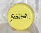 Vintage Jean Nate Powder Box