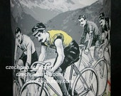 TABLE LAMP Tour de France Yellow Jersey Rider