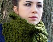 Neck Warmer Cowl - Cilantro Green