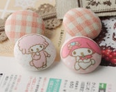 1 inch My Melody Button Set