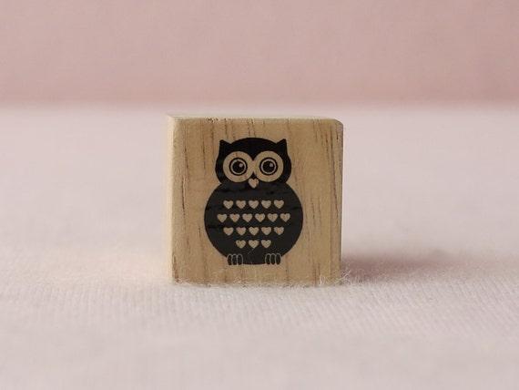Vintage Owl Deco Stamp 3